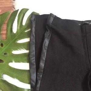Zara Pants - Zara Faux leather legging
